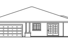 Prairie Exterior - Other Elevation Plan #124-519