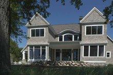 Craftsman Exterior - Rear Elevation Plan #928-171