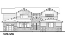Craftsman Exterior - Front Elevation Plan #569-41
