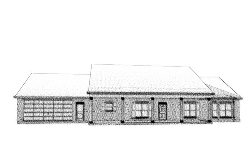 Country Style House Plan - 3 Beds 2 Baths 2240 Sq/Ft Plan #63-289 Exterior - Front Elevation
