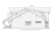 Home Plan - Craftsman Exterior - Other Elevation Plan #901-67