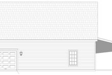 House Plan Design - Country Exterior - Rear Elevation Plan #932-374