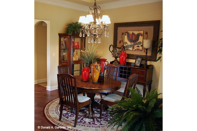 European Interior - Dining Room Plan #929-904 - Houseplans.com