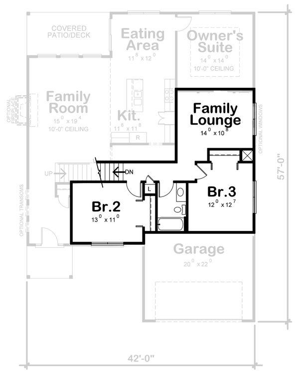 Traditional Floor Plan - Other Floor Plan #20-2396