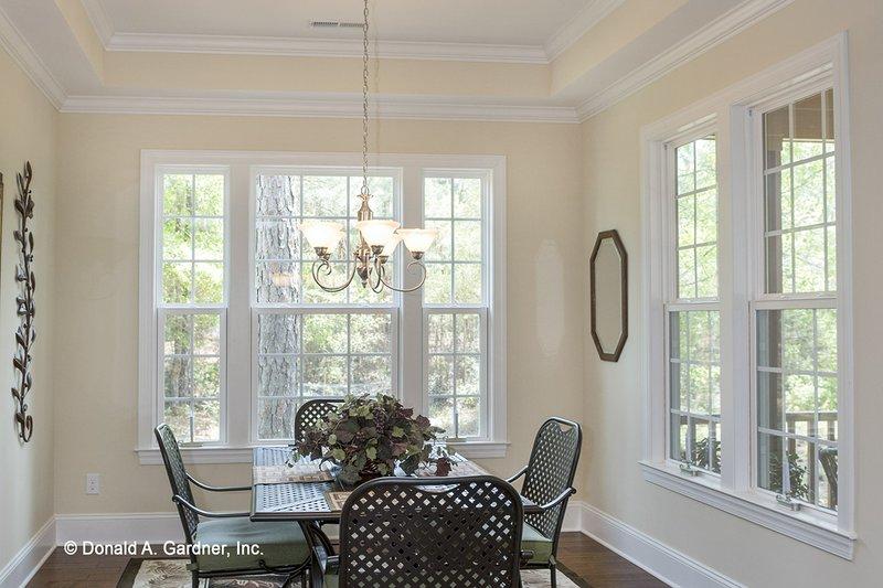 Country Interior - Dining Room Plan #929-704 - Houseplans.com