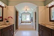 European Interior - Master Bathroom Plan #928-267