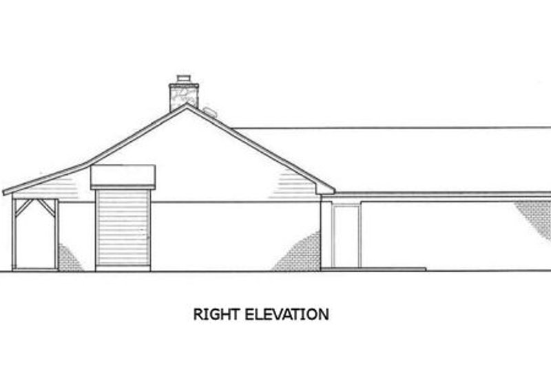 Country Exterior - Other Elevation Plan #45-255 - Houseplans.com