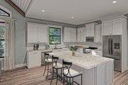 Craftsman Style House Plan - 3 Beds 2 Baths 2096 Sq/Ft Plan #437-101 Interior - Kitchen