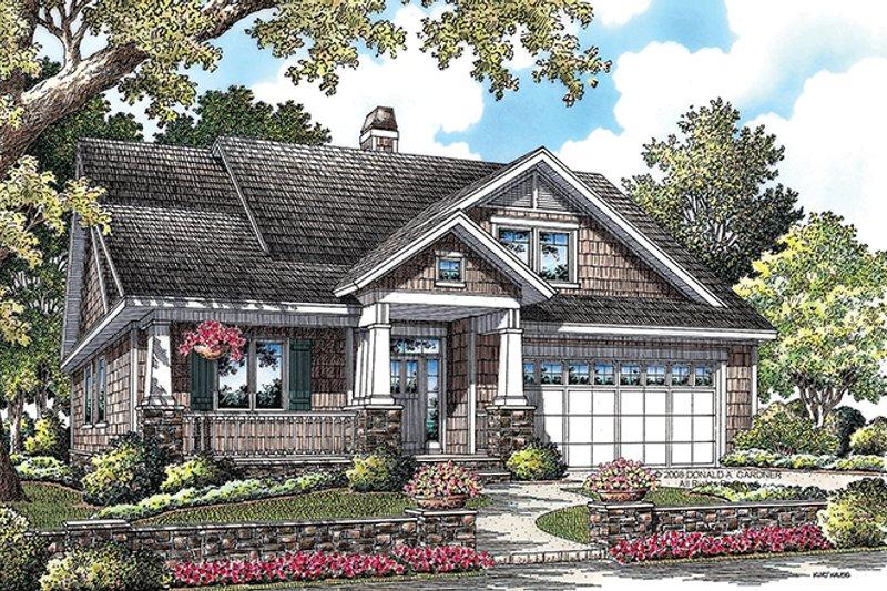 Craftsman Exterior - Front Elevation Plan #929-916 - Houseplans.com