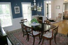 Classical Interior - Dining Room Plan #137-298
