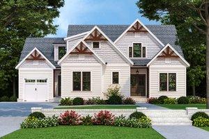 Farmhouse Exterior - Front Elevation Plan #927-1022