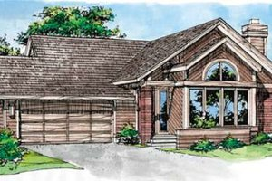 Traditional Exterior - Front Elevation Plan #320-127