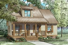 Architectural House Design - Craftsman Exterior - Front Elevation Plan #17-3220