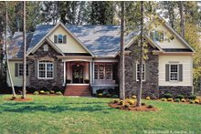 Country Exterior - Front Elevation Plan #929-9