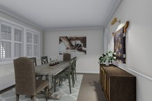 Dream House Plan - Traditional Interior - Dining Room Plan #1060-62