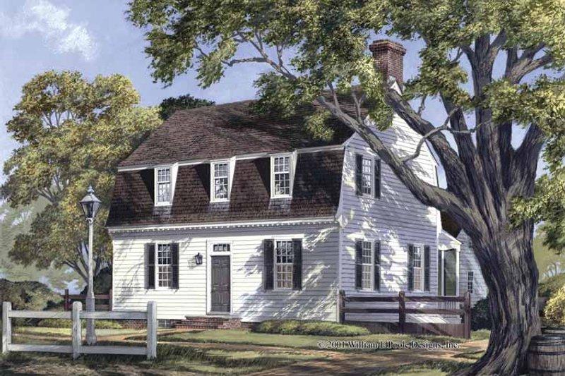 Colonial Exterior - Front Elevation Plan #137-342 - Houseplans.com