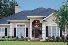 Architectural House Design - Mediterranean Exterior - Front Elevation Plan #37-245