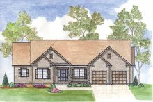 Home Plan - Traditional Exterior - Front Elevation Plan #435-18