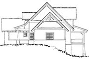 Cabin Style House Plan - 5 Beds 3.1 Baths 3060 Sq/Ft Plan #942-40 Exterior - Other Elevation