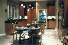 Mediterranean Interior - Kitchen Plan #47-895