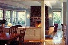House Plan Design - Craftsman Interior - Dining Room Plan #961-2