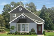 European Style House Plan - 2 Beds 2 Baths 1496 Sq/Ft Plan #1058-108 Exterior - Front Elevation