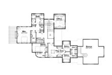 Country Floor Plan - Upper Floor Plan Plan #928-214