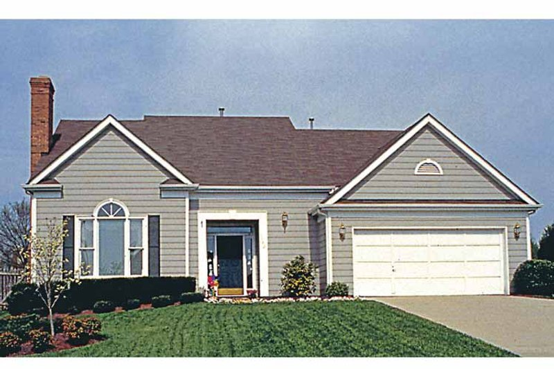 Country Exterior - Front Elevation Plan #453-486 - Houseplans.com