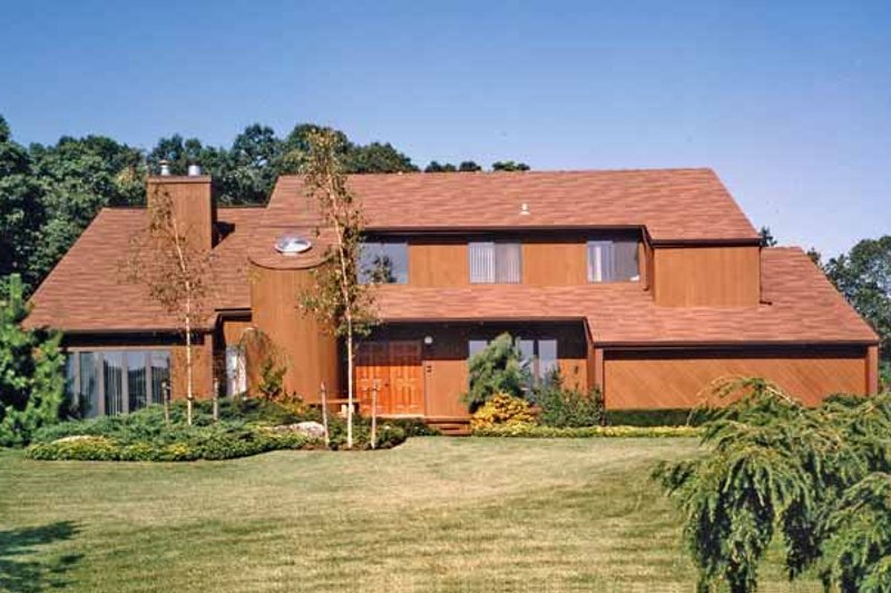 Home Plan - Contemporary Exterior - Front Elevation Plan #314-255