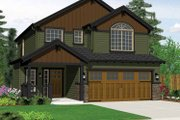 Craftsman Style House Plan - 3 Beds 2.5 Baths 1669 Sq/Ft Plan #943-14