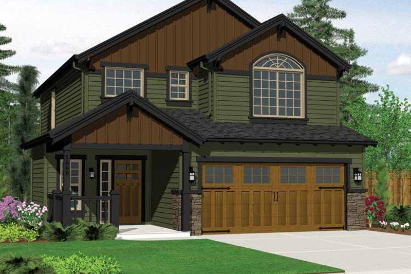 Dream House Plan - Craftsman Exterior - Front Elevation Plan #943-14