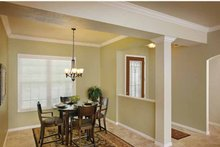 Dream House Plan - Country Interior - Dining Room Plan #938-1