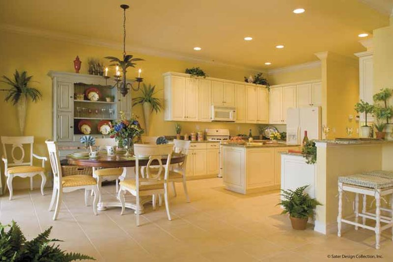 Classical Interior - Kitchen Plan #930-396 - Houseplans.com