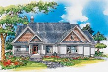 Architectural House Design - Craftsman Exterior - Front Elevation Plan #929-332
