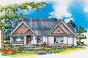 House Design - Craftsman Exterior - Front Elevation Plan #929-332