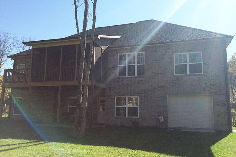 Craftsman Exterior - Rear Elevation Plan #927-566 - Houseplans.com