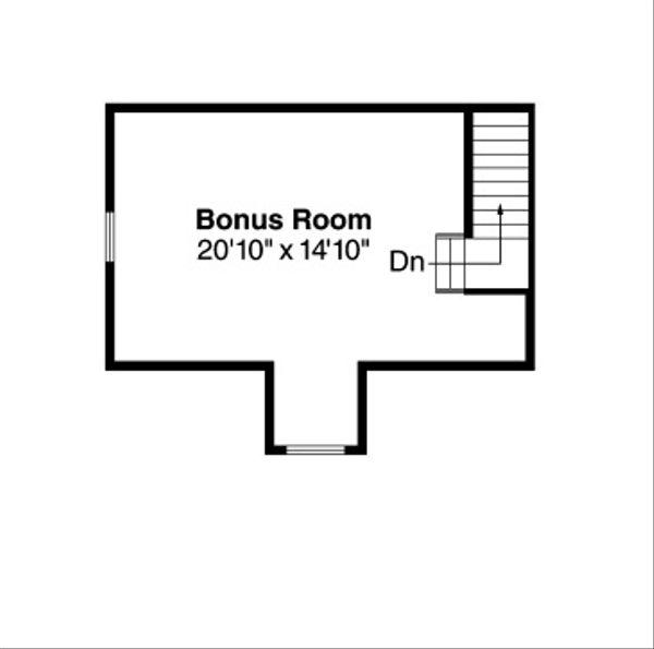 Farmhouse Floor Plan - Other Floor Plan Plan #124-415