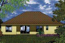 Dream House Plan - Contemporary Exterior - Rear Elevation Plan #1015-46