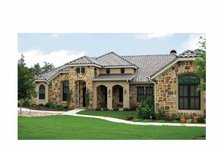 Mediterranean Exterior - Front Elevation Plan #472-307