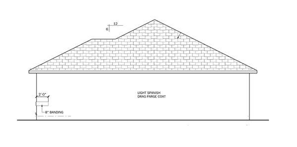 Ranch Floor Plan - Other Floor Plan Plan #1058-31