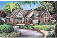 Craftsman Exterior - Front Elevation Plan #929-826