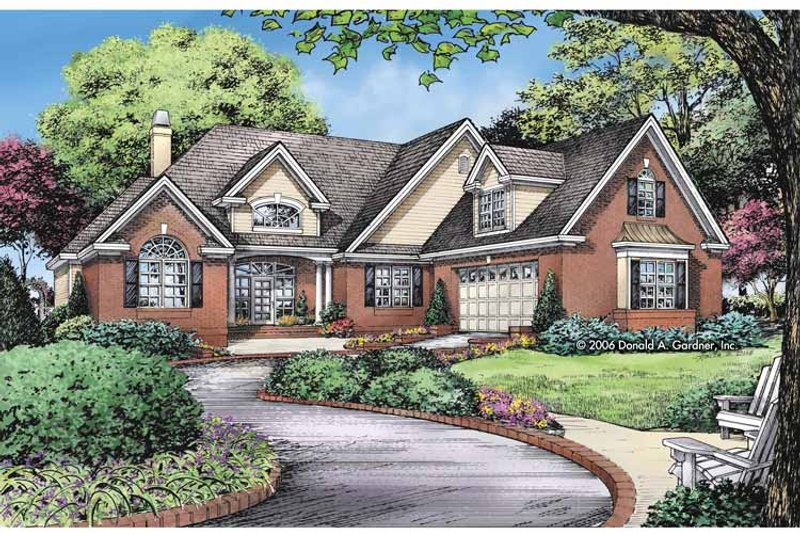 Craftsman Exterior - Front Elevation Plan #929-826 - Houseplans.com