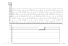 Country Exterior - Rear Elevation Plan #932-237