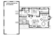 Traditional Floor Plan - Upper Floor Plan Plan #118-168