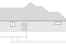 House Design - Ranch Exterior - Other Elevation Plan #1060-10