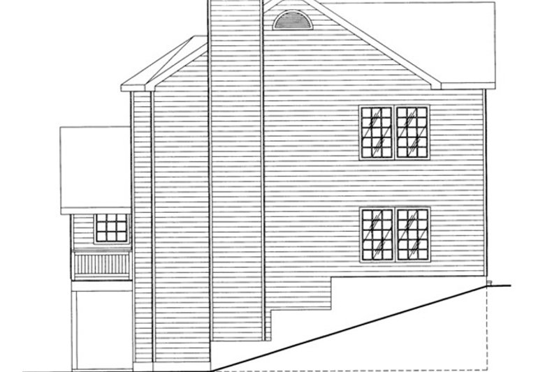 Country Exterior - Other Elevation Plan #117-835 - Houseplans.com