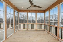 Dream House Plan - Rear Screened Porch
