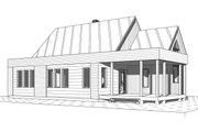 Modern Style House Plan - 2 Beds 1 Baths 1200 Sq/Ft Plan #23-2676