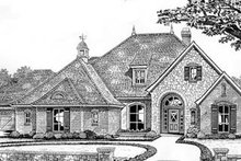 Dream House Plan - Traditional Exterior - Front Elevation Plan #310-531