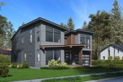 Modern Style House Plan - 3 Beds 4 Baths 3542 Sq/Ft Plan #1066-64